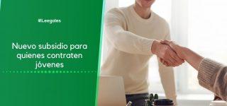 Nuevo subsidio para promover la contratación de jóvenes
