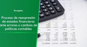 Reexpresión de estados financieros presentados a la Supersociedades