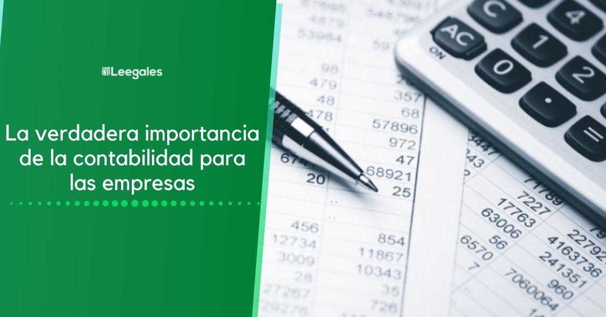 importancia de la contabilidad