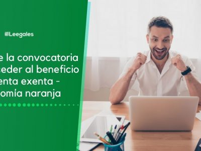 Convocatoria renta exenta para empresas de economía naranja 2021