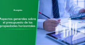 Presupuesto de las propiedades horizontales