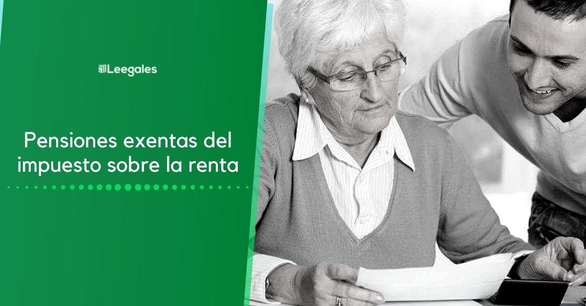 pensiones exentas