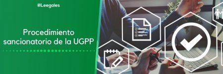 Imposición de sanción por parte de la UGPP