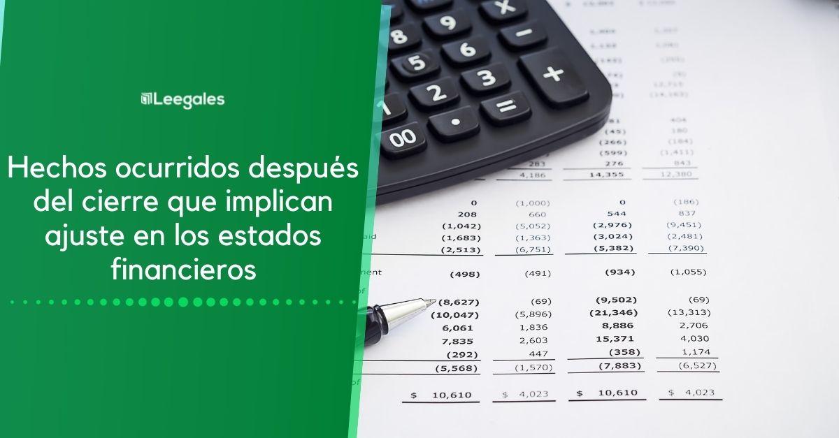 Políticas contables, cambios en las estimaciones contables y errores 2