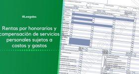 Honorarios sujetos a costos y gastos en la declaración de renta