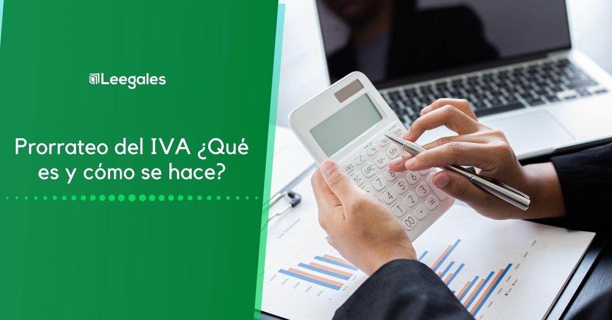 prorrateo del IVA